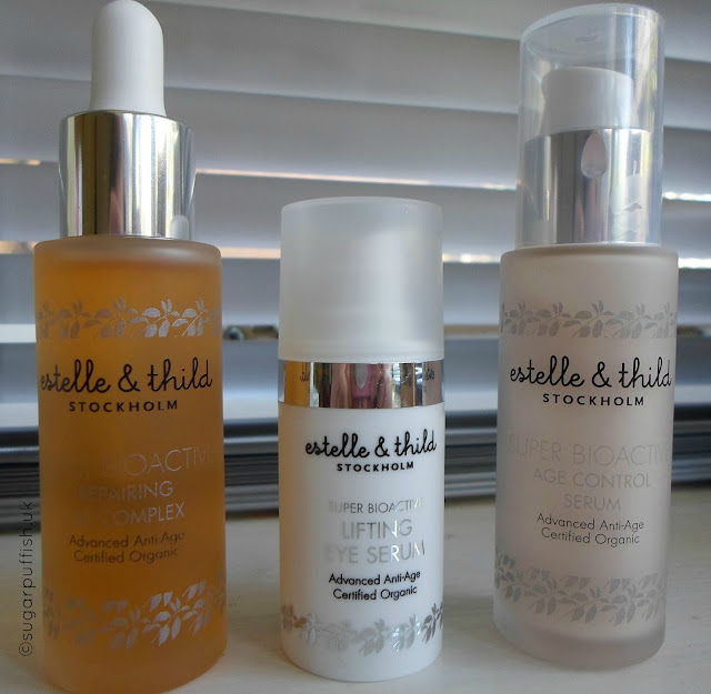 Estelle & Thild Super Bioactive Repairing Oil Complex, Age Control Serum, Lifting Eye Serum