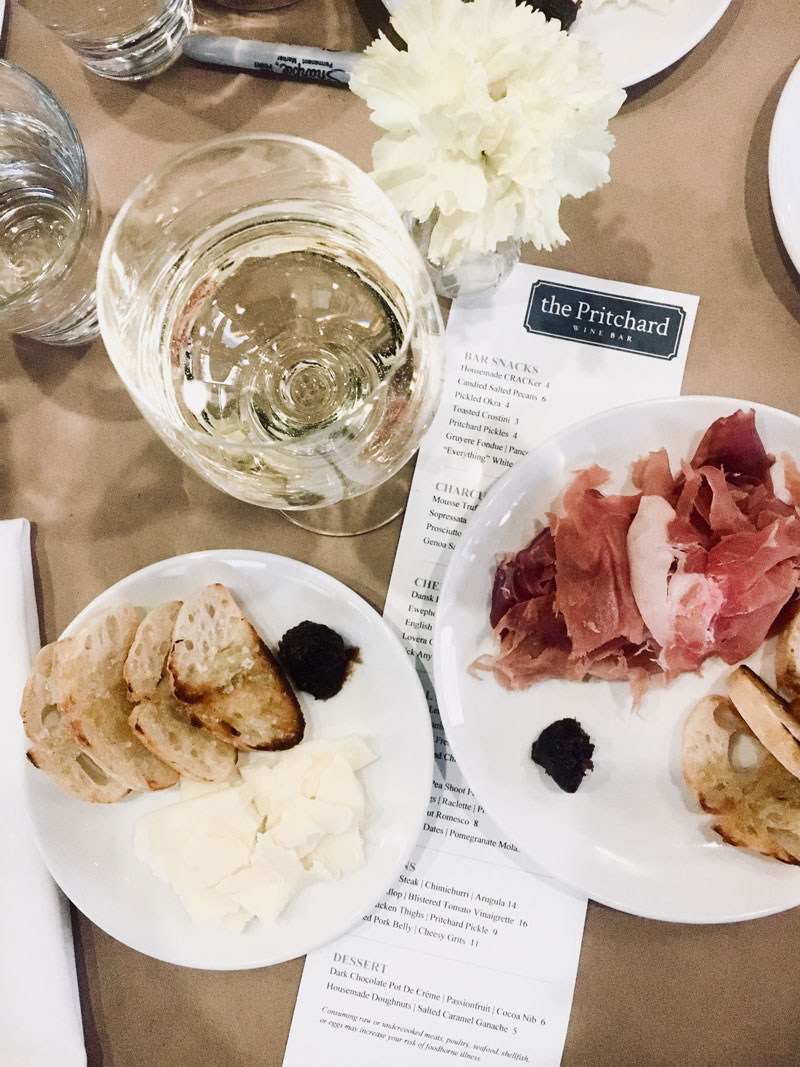 Wine & Cheese at the Pritchard makes blogger Amanda Martin's list of Plaza District favorites