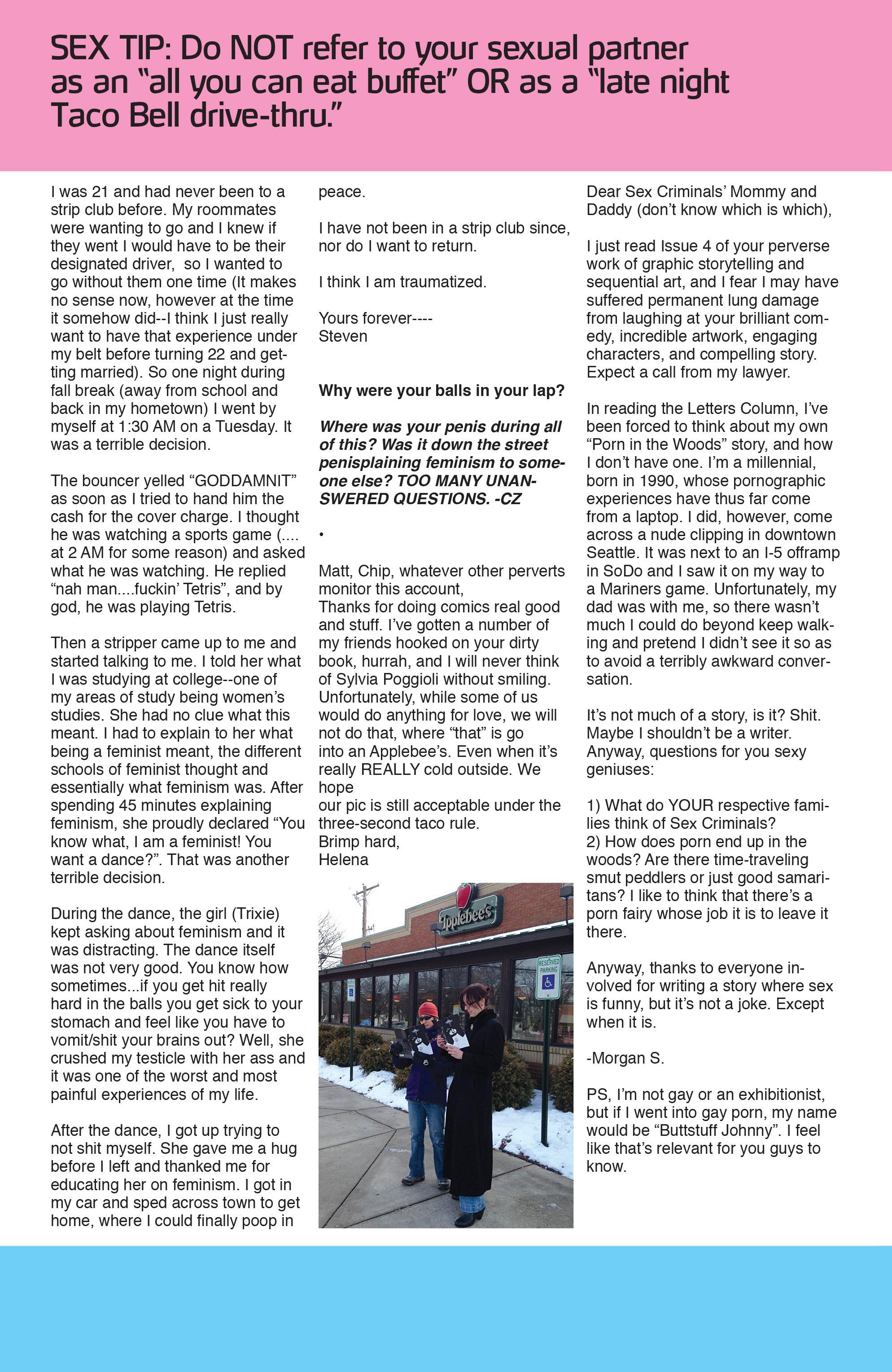 Read online Sex Criminals comic -  Issue #5 - 26