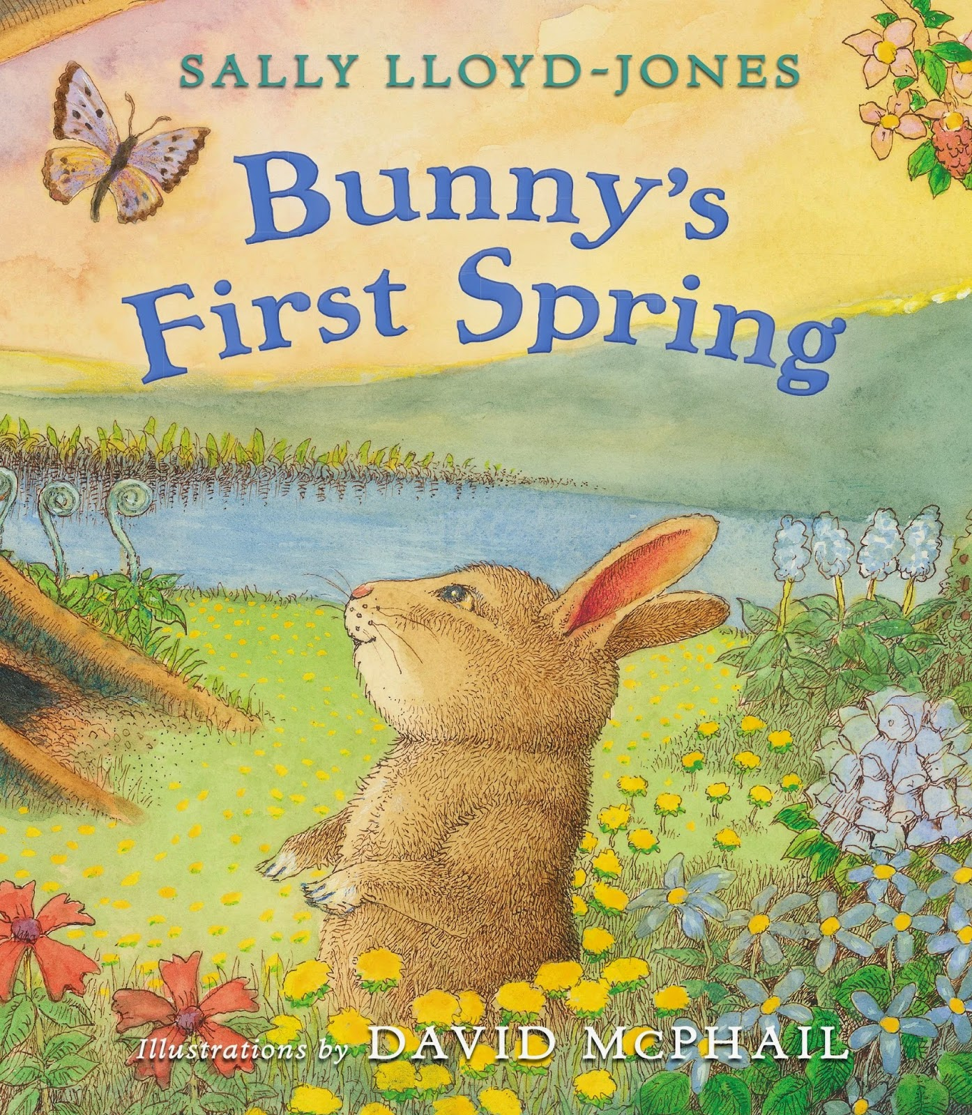 Bunny's First Spring, part of children's book list about spring and changing seasons
