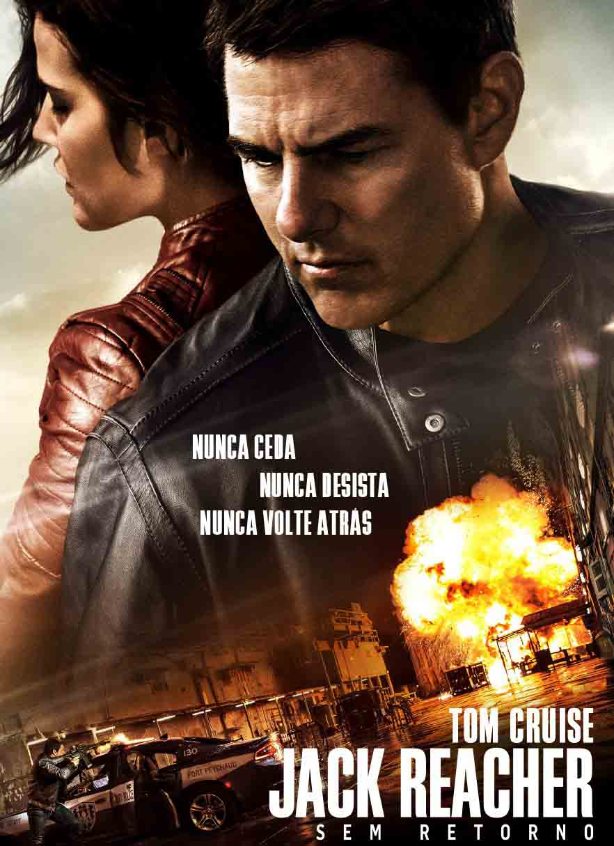 Jack Reacher: Sem Retorno Torrent – BluRay 720p e 1080p Dual Áudio (2017)
