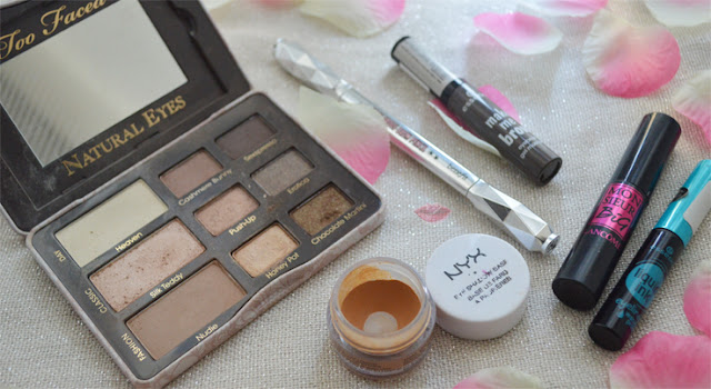 Everyday Eye Makeup con la Natural Eyes di Too Faced e Goof Proof Brow Pencil 5 di Benefit