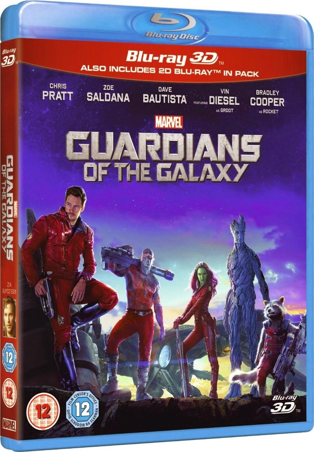 Guardianes De La Galaxia (2014) 1080p 2D y 3D BD25