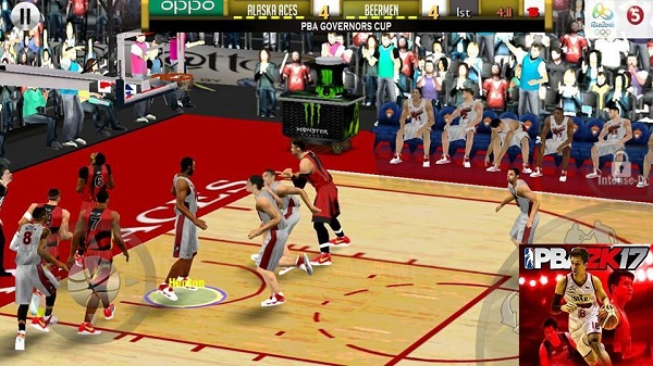 Download PBA2K17 Apk OBB Data Full Android Games