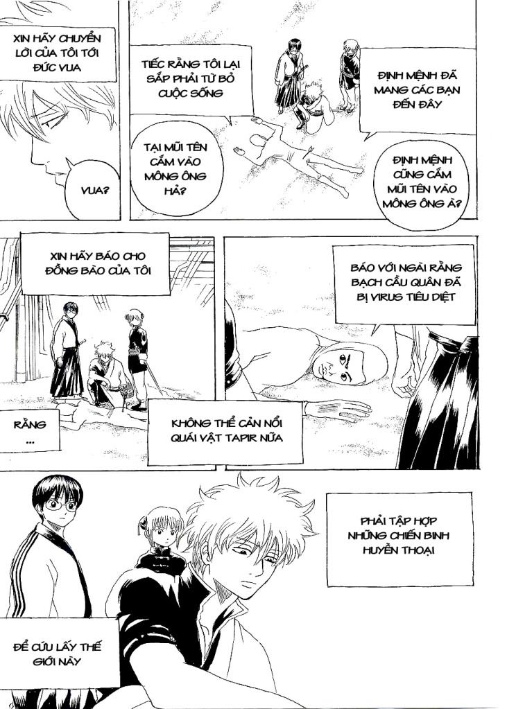 Gintama Chap 247 page 21 - Truyentranhaz.net