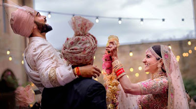 Virat kohli and Anushka Sharma Marriage Pics, video, wedding date dec 11th