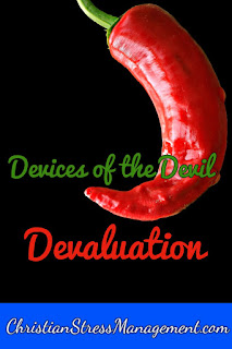 We Are Not Ignorant of the Devices of the Devil Devaluation