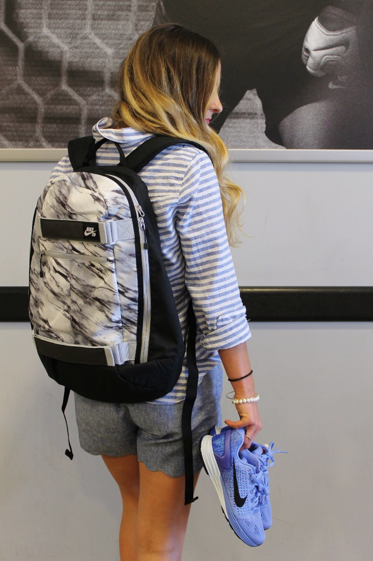 Nike Marble Print Backpack
