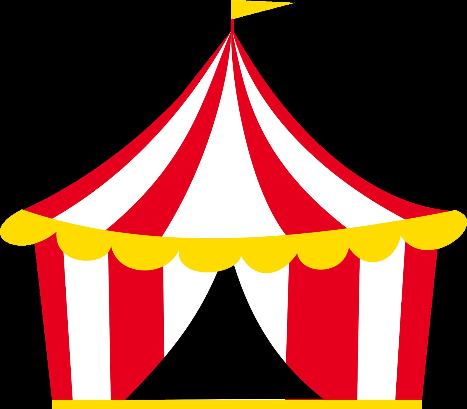Vintage Circus Banner Png