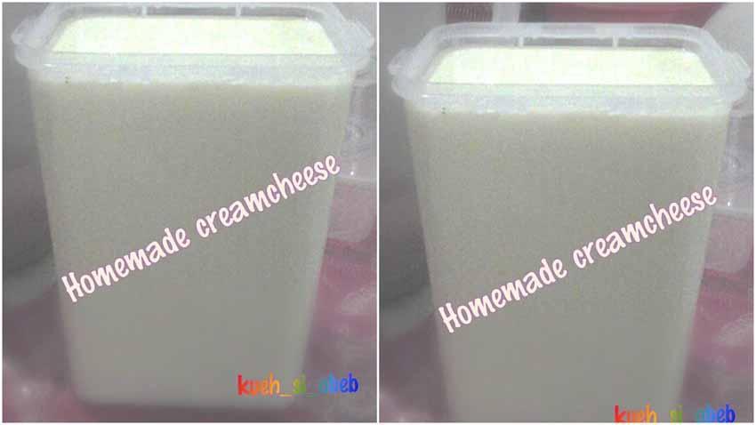 Resep Creamcheese Rumahan
