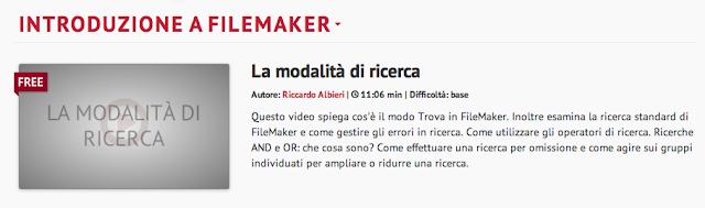 """Imparare FileMaker con """"Cosa Impari"""" 3 - gestionale dentista"""