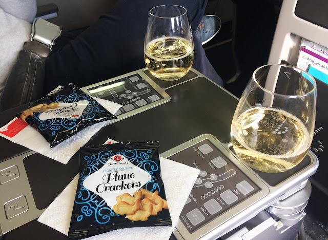 Snack dans l'avion