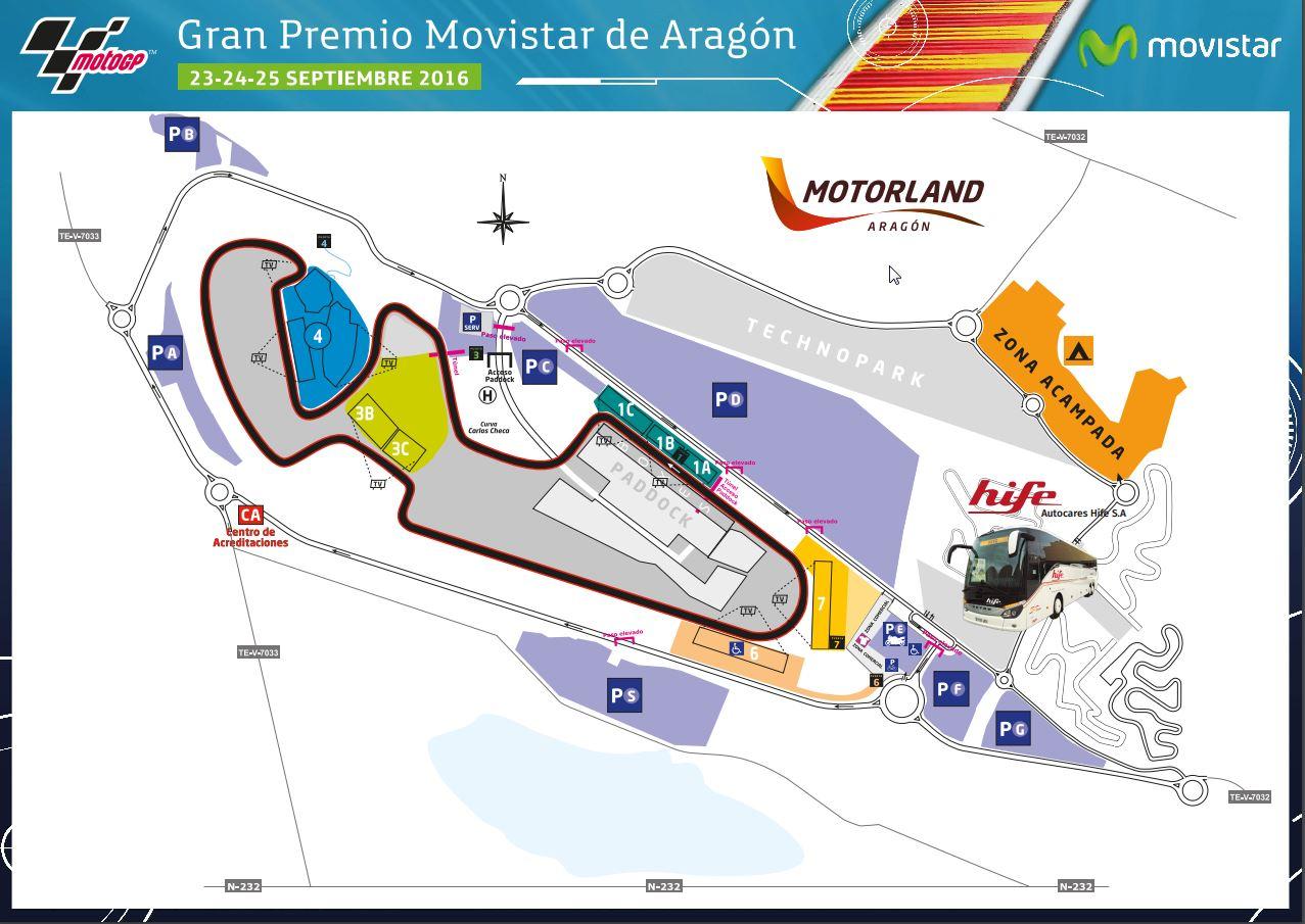 Circuito Motorland : Transporte pÚblico en zaragoza: hife te lleva a motorland para el