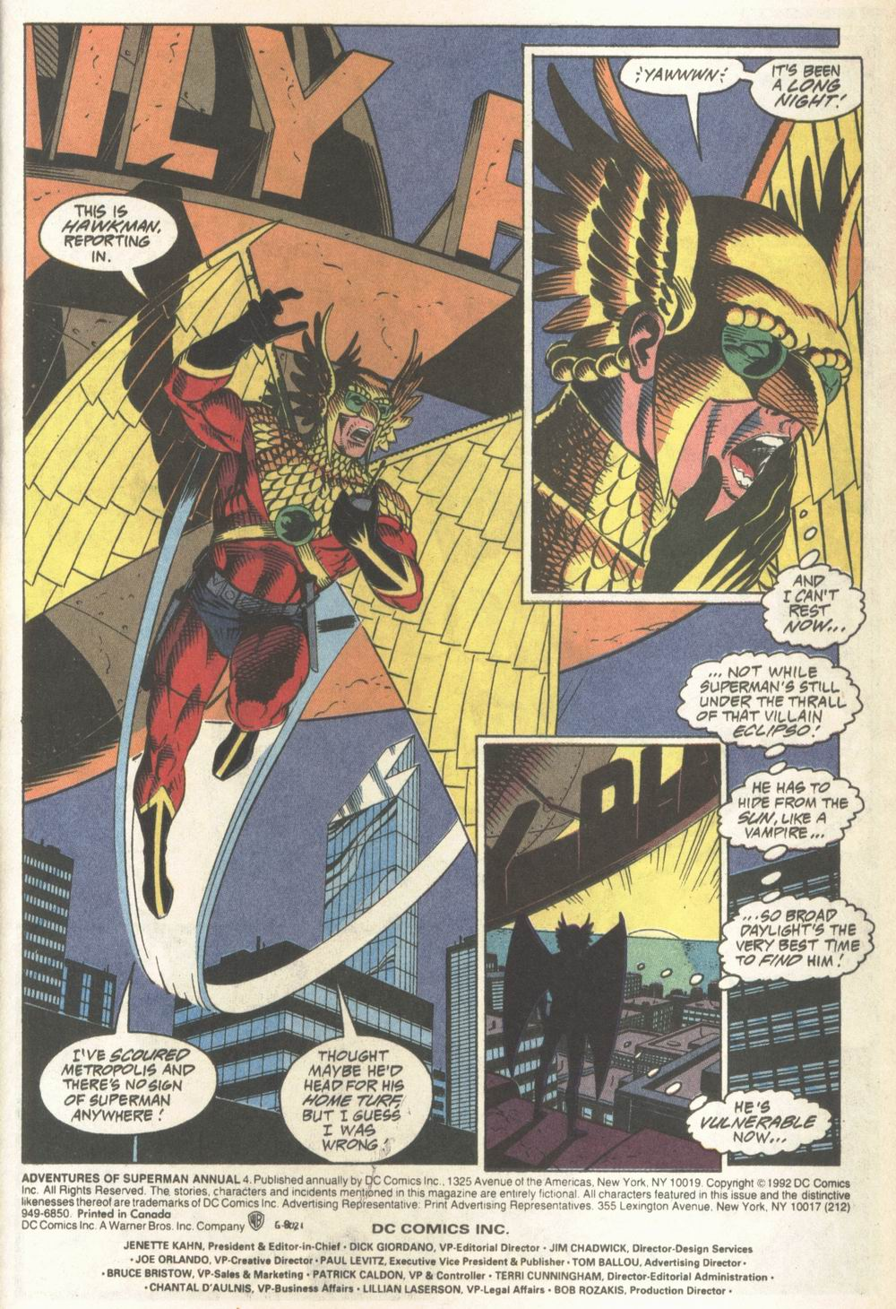 Read online Adventures of Superman (1987) comic -  Issue #Adventures of Superman (1987) _Annual 4 - 2