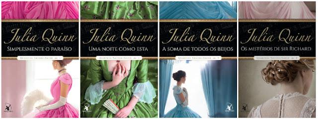 Wishlist Literaria - Romances de Época - Série Quarteto Smythe-Smith - Julia Quinn (Editora Arqueiro)