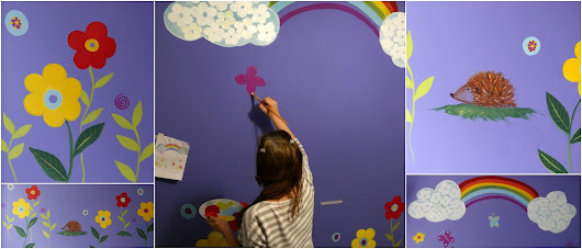 Have You Ever Painted on a Wall? I have!