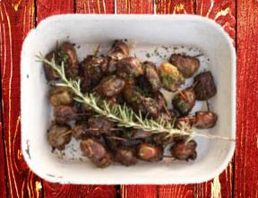 Skilpadjies Grilled Lamb Kidney