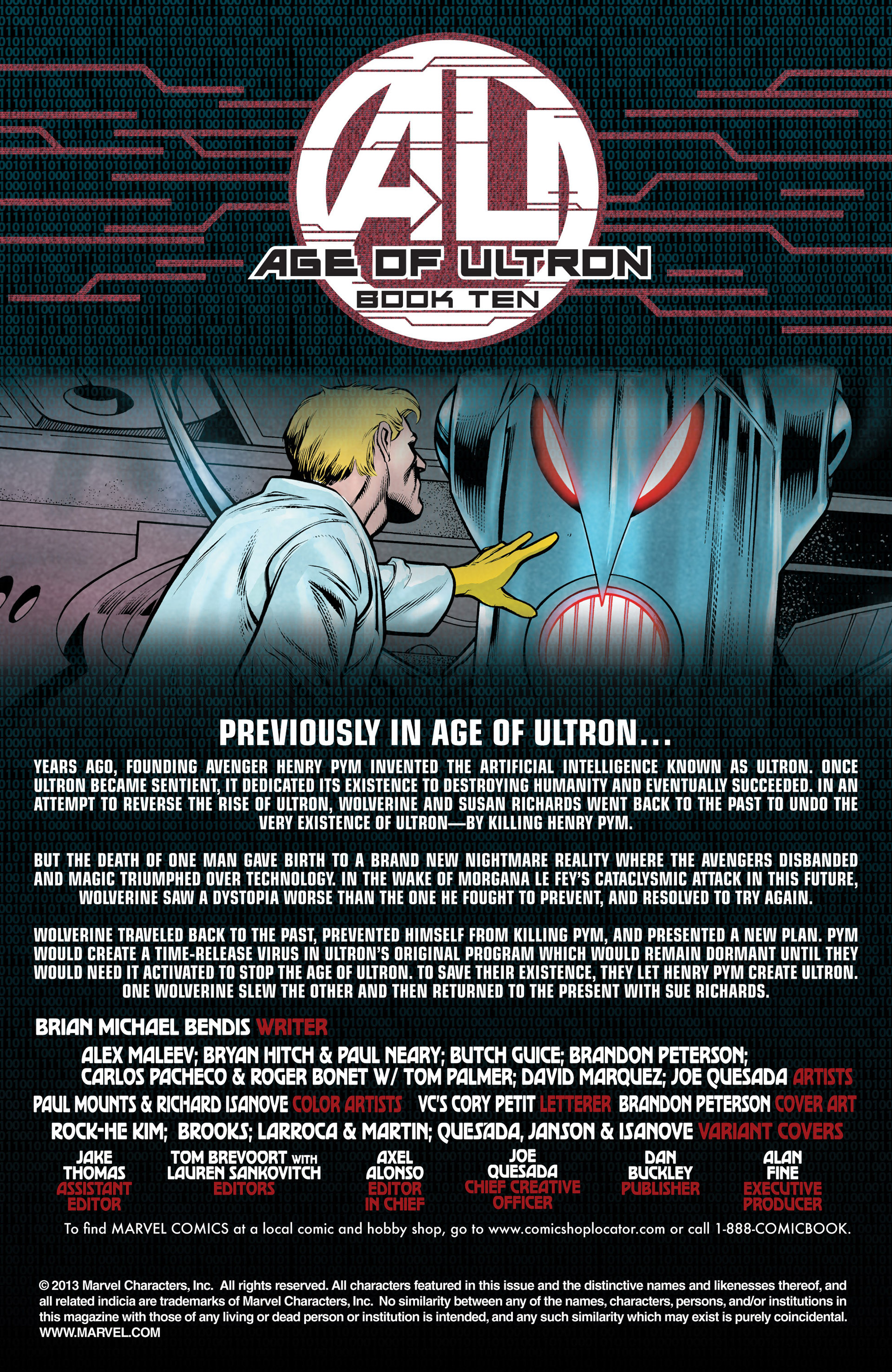 Read online Age of Ultron comic -  Issue #10 - 2