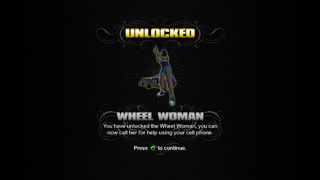 Saints Row Unlocked Wheel Woman