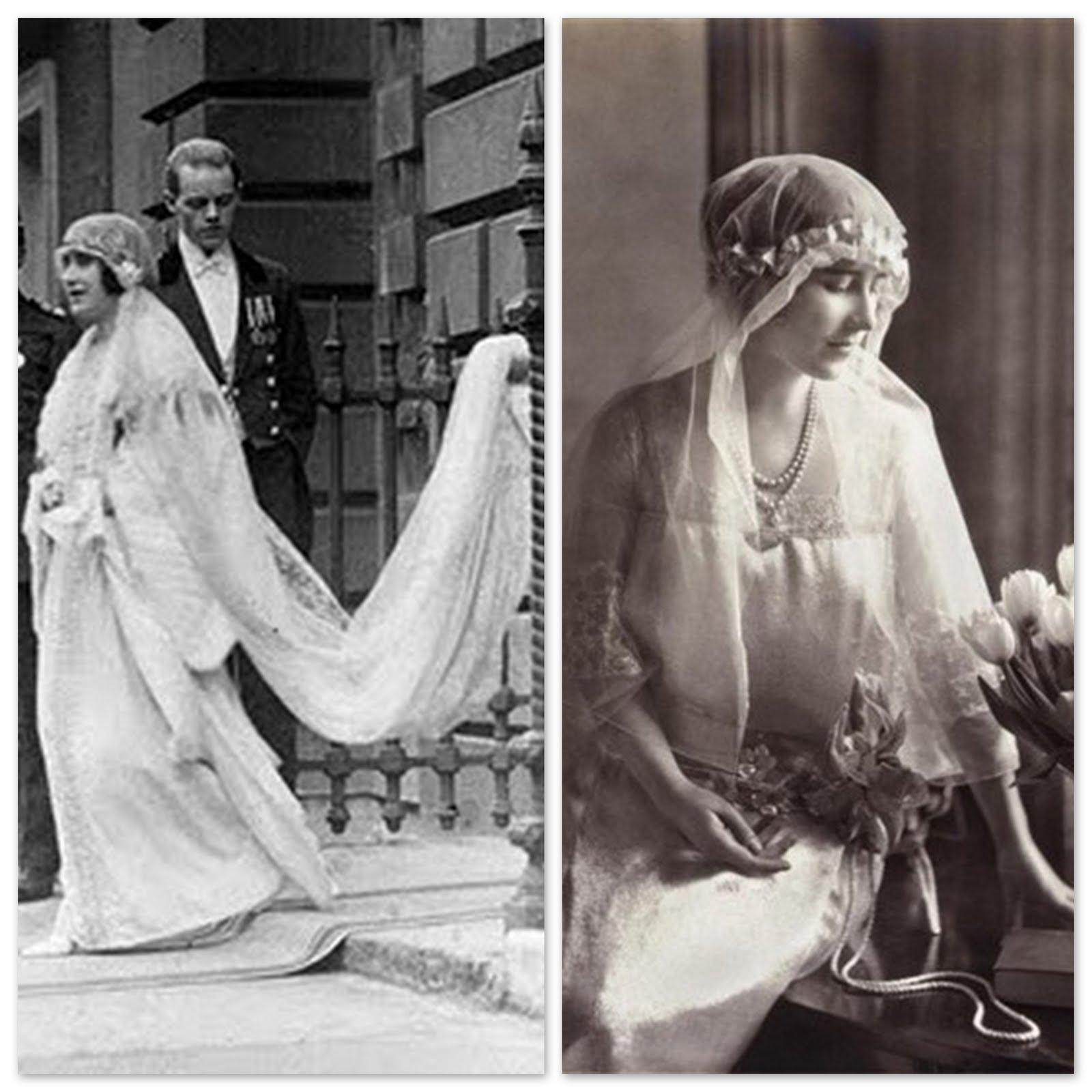 Queen Elizabeth Wedding Gown: Figure8studio: The Royal Wedding