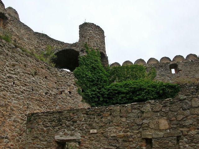 kamień, zamek, Chojnik, widok