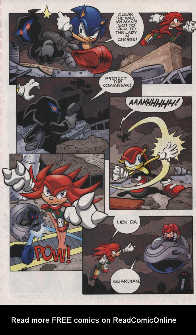 Read online Sonic The Hedgehog comic -  Issue #189 - 16