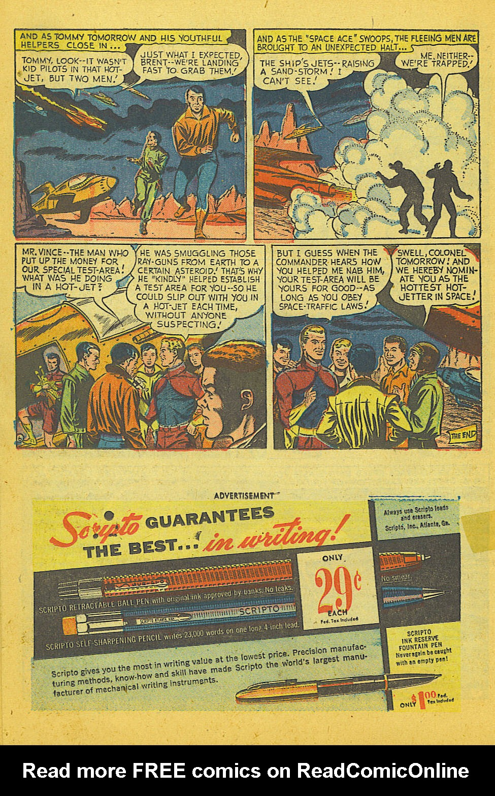 Read online Action Comics (1938) comic -  Issue #186 - 26