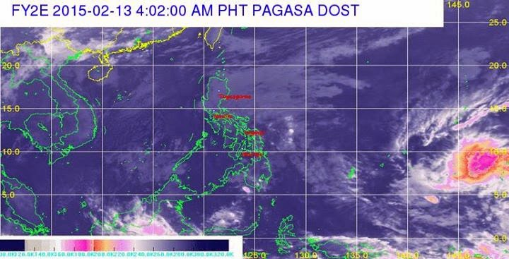 PAGASA: LPA Update for February 13, Friday