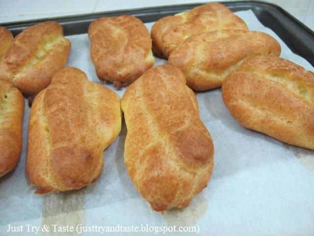 Resep Choux Pastry (Adonan Kulit Untuk Eclairs/Kue Sus) JTT