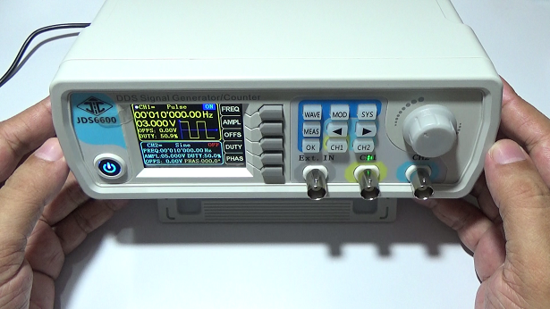 Generador de funciones o señales.