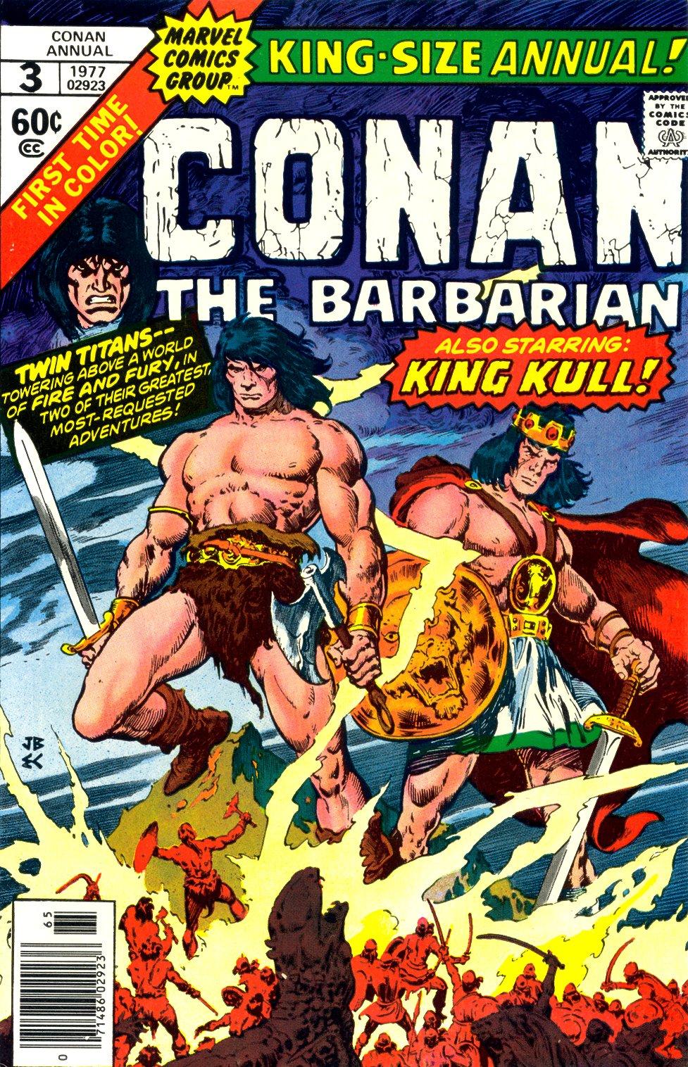 Conan the Barbarian (1970) Annual_3 Page 1