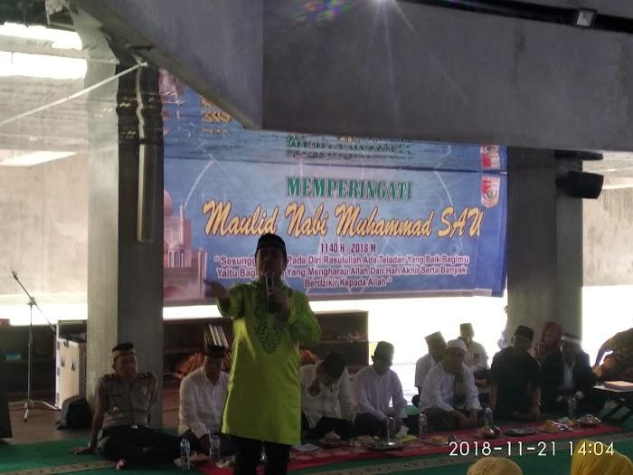 Wakil Bupati Tubaba Hadiri Maulid Nabi Muhammad SAW