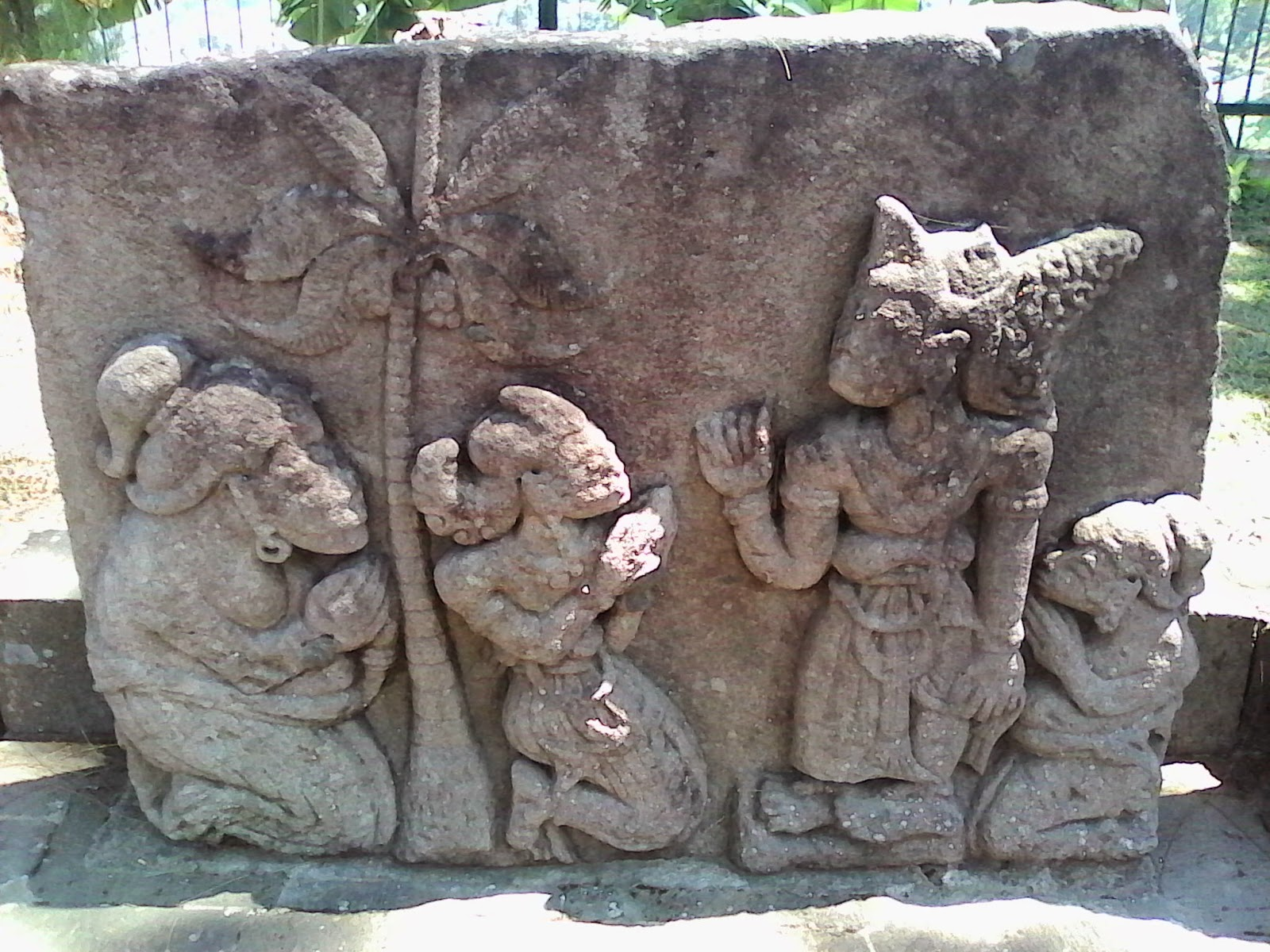 sukuh temple's relief