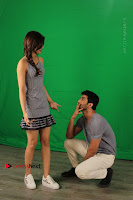 Kriti Sanon & Sushant Singh Rajput Pos During Promotional Interview For Raabta .COM 0019.jpg