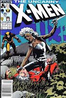 X-men v1 #216 marvel comic book cover art by Barry Windsor Smith