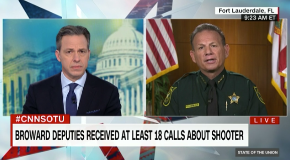 Tapper Questions Broward County Sheriff's claim of 'amazing leadership'
