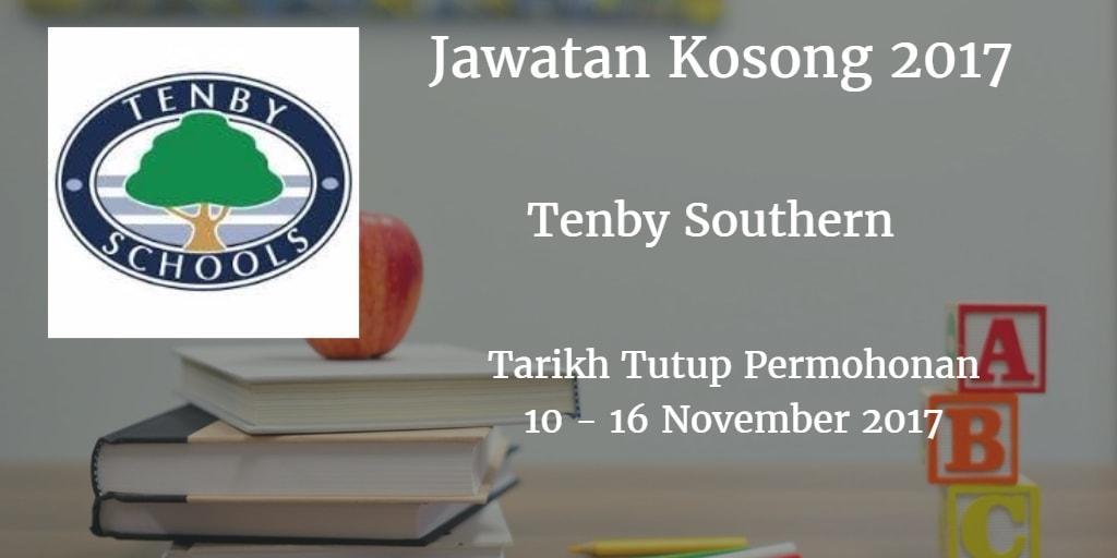 Jawatan Kosong Tenby Southern 10 - 16 November 2017