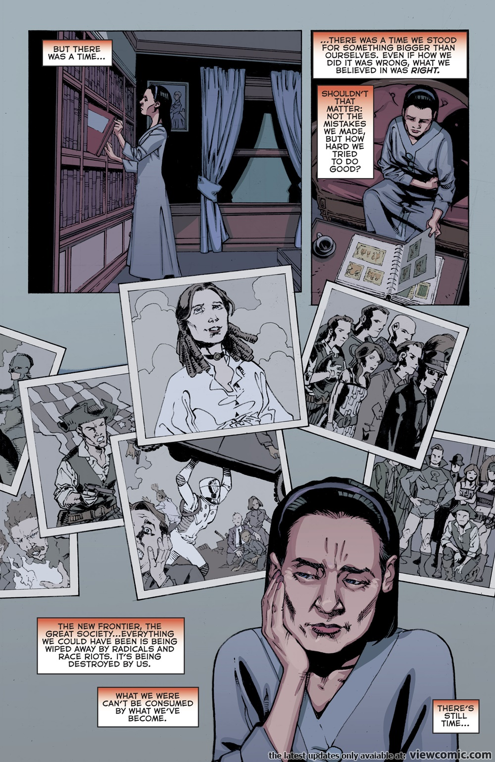 The American Way – Those Above and Those Below 002 (2017) | Vietcomic.net reading comics online for free