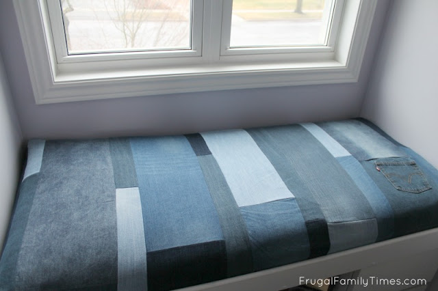 simple diy window seat cushion