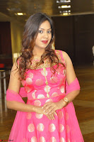 Sindhu Shivarama in Pink Ethnic Anarkali Dress 16.JPG