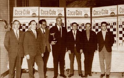 Equipo del Terrassa en el Cartel del VI Campeonato de España por equipos