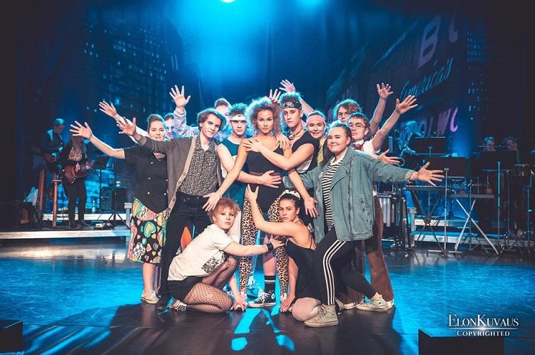 fame, musikaali, rauma, teatteriyhdistys fake