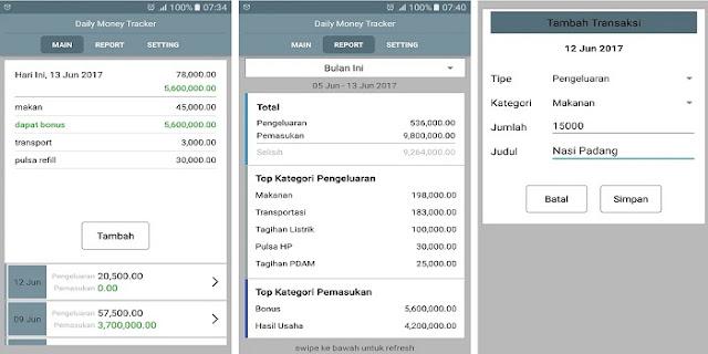 Catatan Keuangan Harian