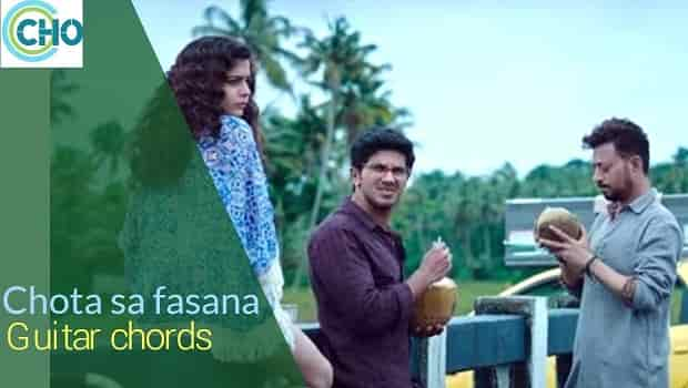 CHOTA SA FASANA guitar chords accurate | Arijit Singh | Kaarwan