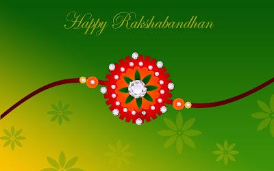 Happy Raksha Bandha HD Wallpaper