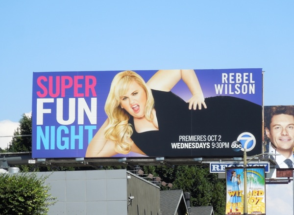 Super Fun Night ABC sitcom billboard