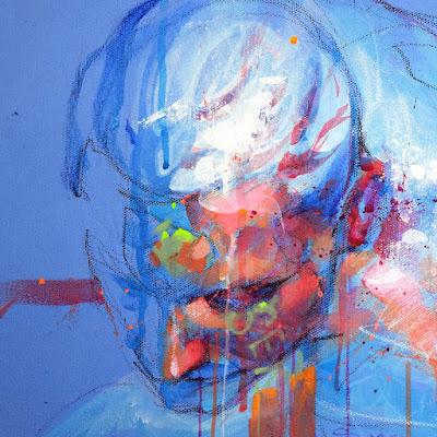 """""""Next"""" Xolotl Polo. Acrílico sobre lienzo, 110 x 90 cm. 2014 Colección Particular."""