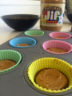 shakeology, peanut butter cups, reese's, chocolate, coffee, healthy dessert, recipe, 21 day fix, protein powder, healthy recipe, caramel, caramel shakeology, peanut butter, natural, natural peanut butter, creamy peanut butter, peanut butter recipe