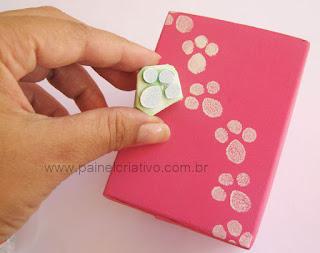 Украшение коробочки для подарка