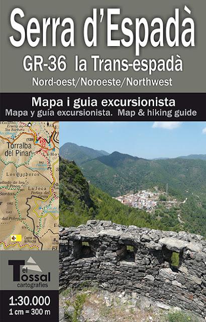 GR36 la Transespadà: Comprar mapa